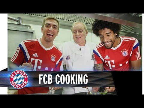Cooking with Lahm & Dante