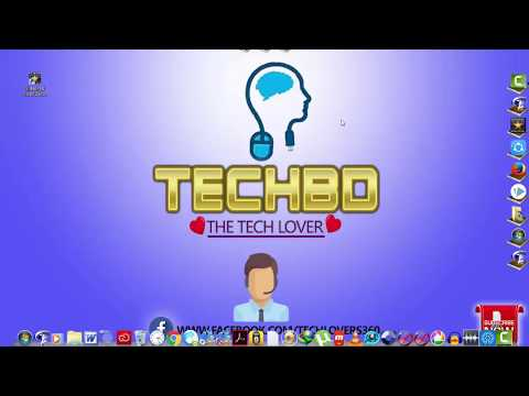 How To Customize Your Desktop With Object Dock As Like As Sohag360 (Beng...