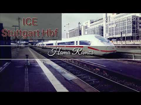 ICE . Deutsche Bahn mit sengen Adele Stuttgart Hbf