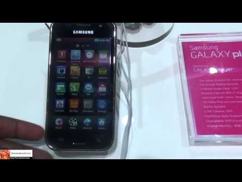 CES 2011 - Samsung Galaxy Player Hands-on| Booredatwork
