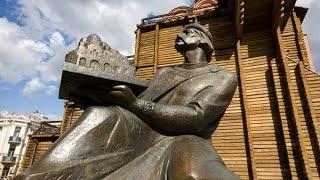 Памятник Ярослав Мудрый в Киеве. Курсовая работа по режиссуре за 2 курс