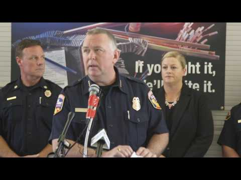 Greater Sacramento Area Fireworks Task Force Press Conference