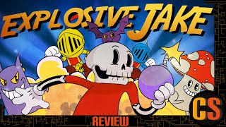 EXPLOSIVE JAKE - PS4 REVIEW (Video Game Video Review)