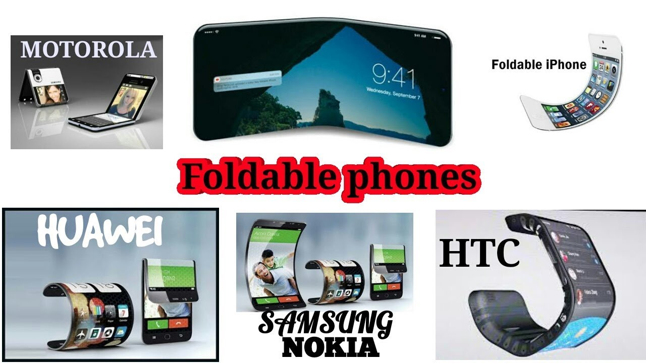 All company foldable phones   Price   Display   release date   Specs   First Look   Design   2018