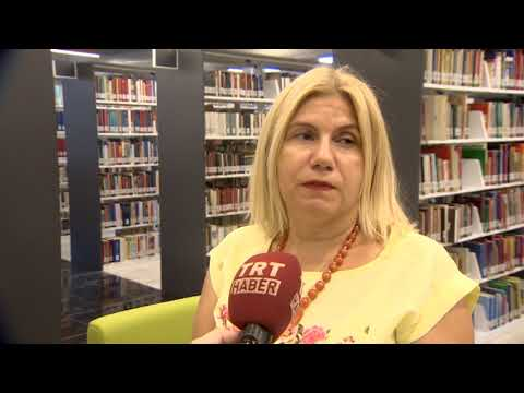 Marmara Üniversitesi Merkez Kütüphane-TRT Röportaj