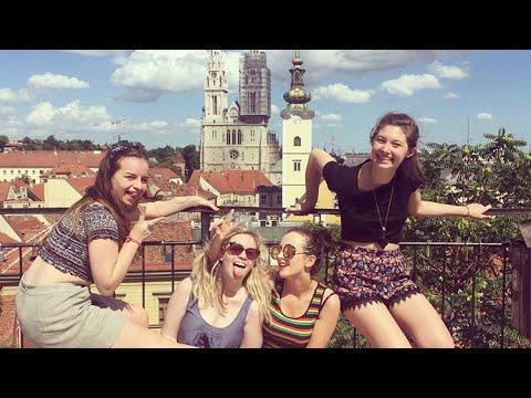 Zagreb travel vlog 3 (new hostel buddies)