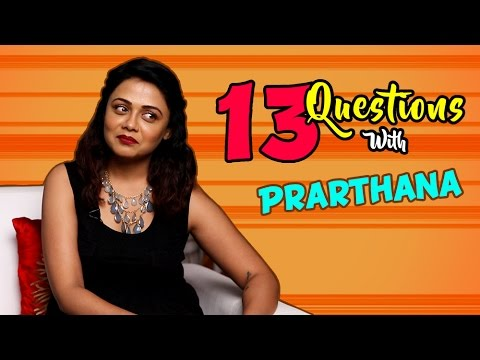 Top 13 Questions With Prarthana Behere | Cute & Bubbly | Fugay Marathi Movie 2016