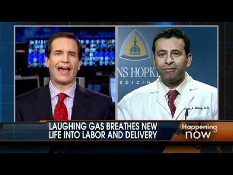 Laughing Gas For Women in Labor?
