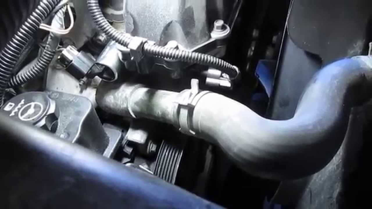 hight resolution of 2004 trail blazer vvt and cam position sensor removal and installation part 3