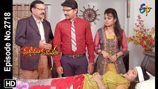 Manasu Mamata | 5th October 2019  | Full Episode No 2718 | ETV Telugu