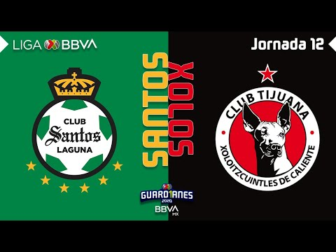 Santos Laguna Club Tijuana Goals And Highlights