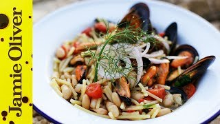 Seafood Pasta With Cannellini Beans | Gennaro Contaldo