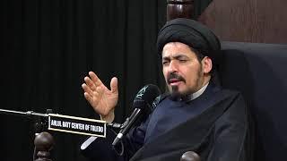 السيد منير الخباز - العلاقة بين ولسوف يعطيك ربك فترضى وإنا أعطيناك الكوثر بفاطمة الزهراء ع