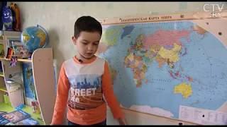 6-летний Егор Куницкий знает названия 194-х  столиц мира и узнает страны по контурам