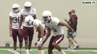 Texas A&M Fall Camp Highlights - Practice 11
