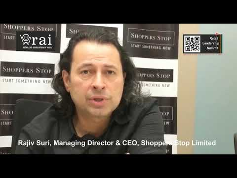 Shoppers Stop MD & CEO Rajiv Suri Invites You To Retail Leadership Summit (2019)