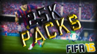 25K PACKS! - Fifa 15 Ultimate Team Thumbnail