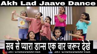 Akh Lad Jaave Dance | Loveyatri | Aayush Sharma | Warina Hussain | Kids Dance Choreography