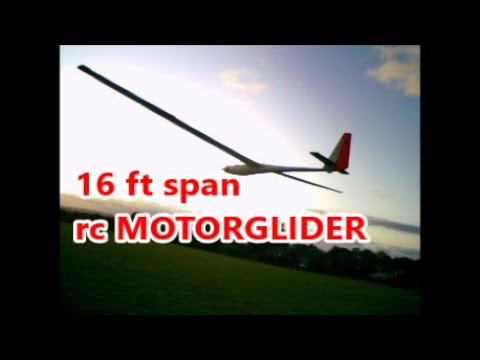OLD 5 metre rc GLIDER for sale/SOLD
