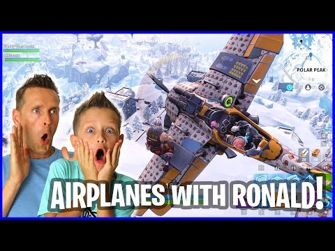 DUO with Ronald and Flying Airplanes in Battle Royale!