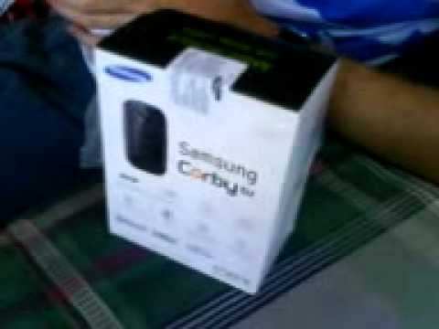 Unboxing Samsung Corby DJ M3710