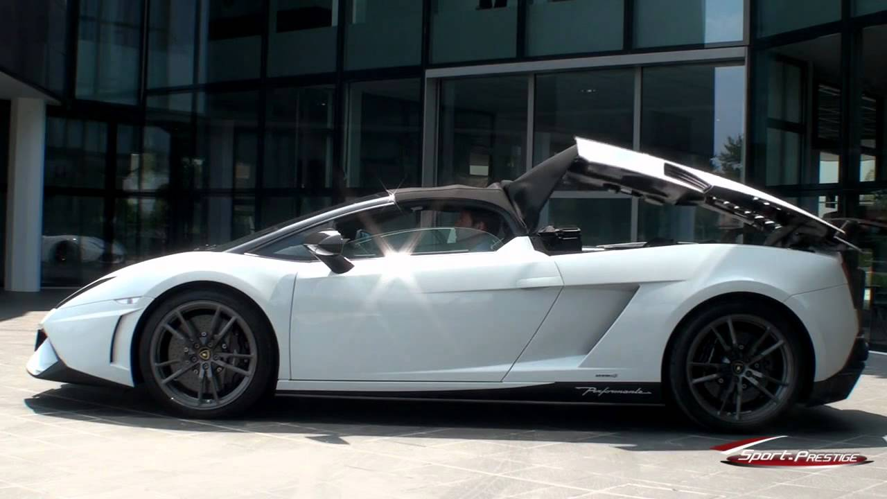 Essai Lamborghini Gallardo Lp 570 4 Performante Spyder Youtube