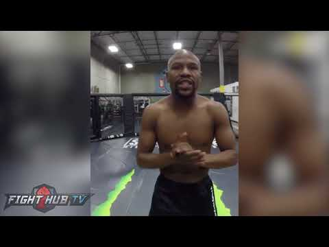 """FLOYD MAYWEATHER TROLLING MCGREGOR W/ MMA DEBUT IN 2018 """"MONEY MAYWEATHER IN MMA, WHAT ARE THE ODDS"""""""