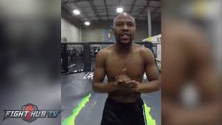 "FLOYD MAYWEATHER TROLLING MCGREGOR W/ MMA DEBUT IN 2018 ""MONEY MAYWEATHER IN MMA, WHAT ARE THE ODDS"""