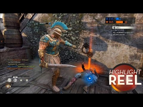 Highlight Reel #305 - For Honor Player Picks Perfect Time To Gloat