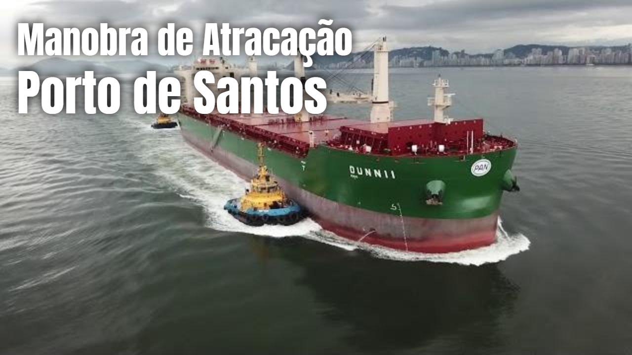 Download MANOBRA ATRACAÇÃO COM REBOCADORES - NAVIO DUNII   ARMAZEN 32