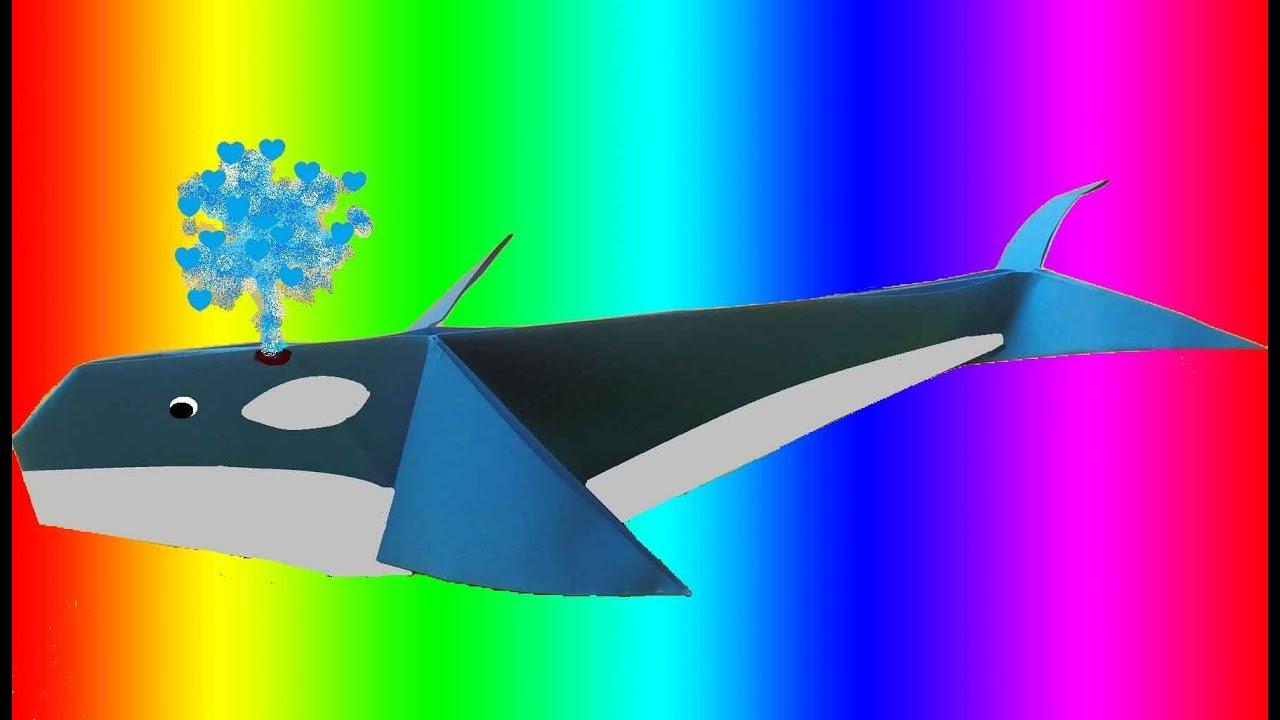 Curso de papiroflexia gratis 9 ballena de papel tutorial - Como hacer una mosquitera ...