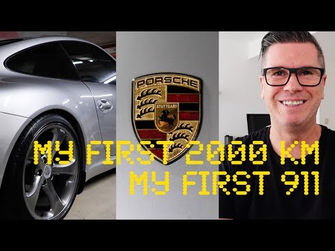 MY FIRST 2000 KM in MY FIRST PORSCHE 911