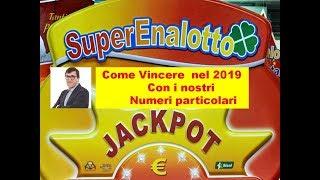 Vincere al superenalotto nel 2019