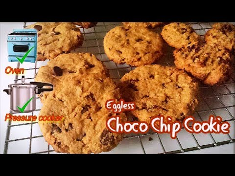 Egg-less Chocolate Chip Cookie | CJJUSTYANN