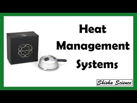 Hookah Heat Management Systems - Kaloud Lotus