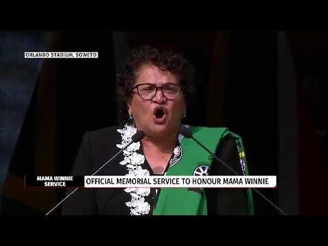 Jesse Duarte pays homage to struggle icon Winnie Mandela