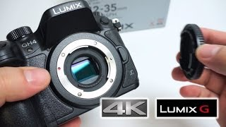Lumix GH4 & 12-35mm 2.8 ASPH OIS GX Vario Unboxing