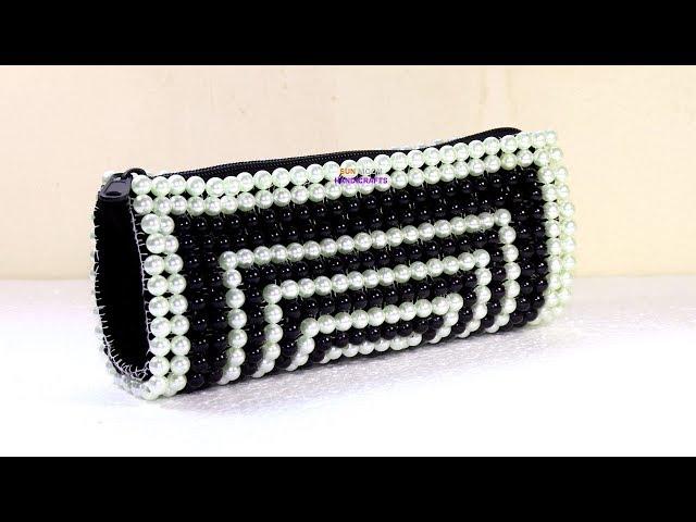 ????? ?????/ How to make beaded purse/ New design beaded bag