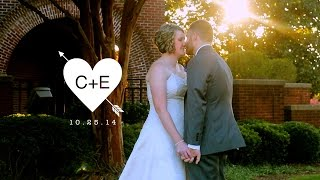 Elizabeth Schaefer & Chris Cyack wedding at The Magnolia Room