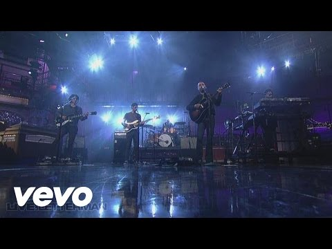 The Shins - New Slang (Live On Letterman)