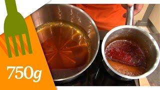 Réaliser un caramel inratable  - 750 Grammes