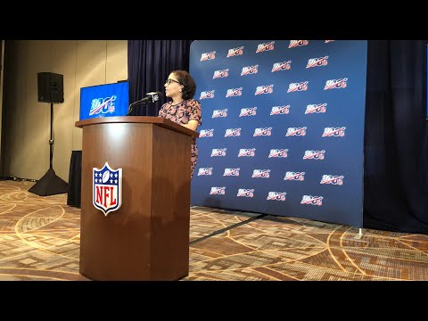 NFL Annual Meeting 2019 Larry Fitzgerald Press Conference
