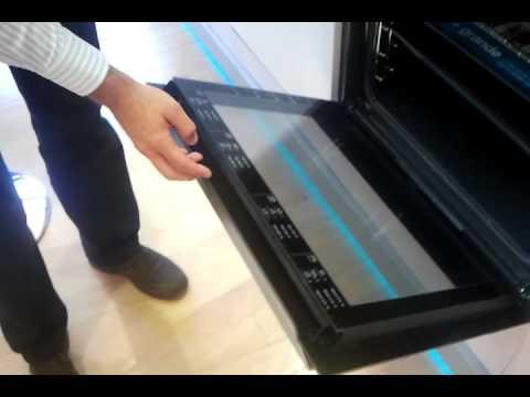Tutorial como montar cristales de las puerta hornos aeg electrolux youtube Cristales para puertas de salon