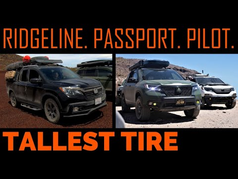 TALLEST TIRE?  On A Passport/Pilot/Ridgeline