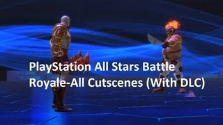 PlayStation All Stars Battle Royale-All Cutscenes (With DLC)