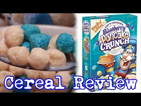 Cap'n Crunch's Blueberry Pancake Crunch Review