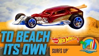 HW SURF'S UP™ IN TO BEACH HIS OWN | Hot Wheels