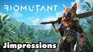 Biomutant - Attack Of The Goofy Weasel Beasts (Jimpressions) (Video Game Video Review)