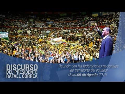 Diálogo social por la equidad y justicia social, Quito 06/08/2015