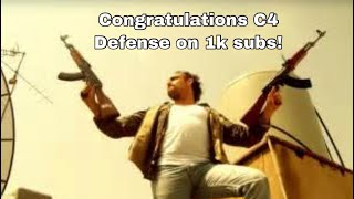 VR/ Congrats to C4 Defense on 1k+ subscribers #c4defense #1000subcelebration